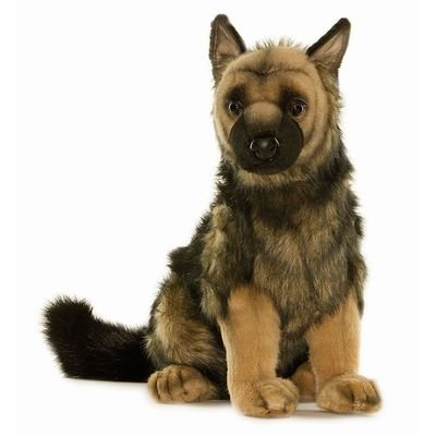 Hansa German Shepherd Puppy Stuffed Plush Animal by Hansa Toys