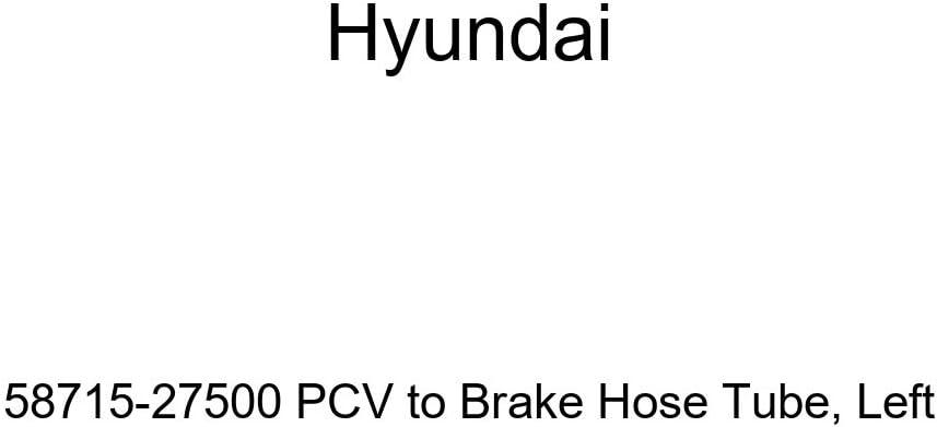 Left Genuine Hyundai 58715-27500 PCV to Brake Hose Tube