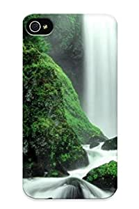 Awesome Falls Creek Falls, Gifford Pinchot National Forest, Washington Flip Case With Fashion Design For Iphone 4/4s by supermalls