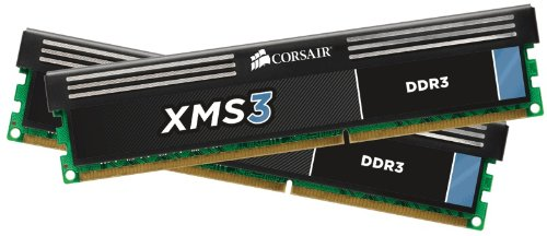 Corsair XMS3 8GB (2x4GB)  DDR3 1600 MHz (PC3 12800) Desktop - Socket Adapter Amd