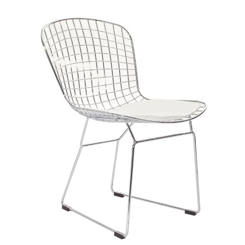 Bertoia Style Wire Side Chair - 1