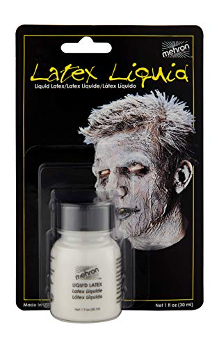 Mehron Makeup Liquid Latex (1 oz) (Clear Flesh) -