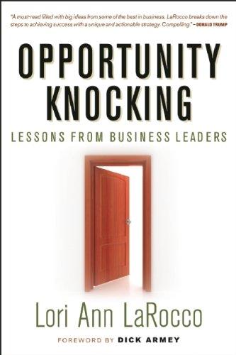 Opportunity Knocking: Amazon.es: LaRocco, Lori Ann, Armey ...