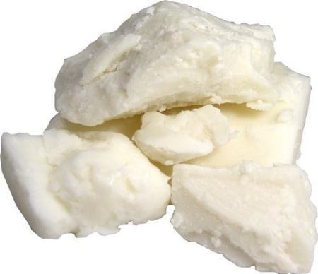 Raw Unrefined Ivory Shea Butter TOP Grade From Ghana 1 lb-- SOFT