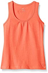 Scout + Ro Big Girls\' Jersey Tank Top, Dark Coral, 10