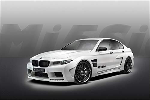 Innerwallz BMW 2013 Hamann M5 Mission M5 F10 White Cars Wall Art, Pop Art, Poster, Art Prints | Rare Posters