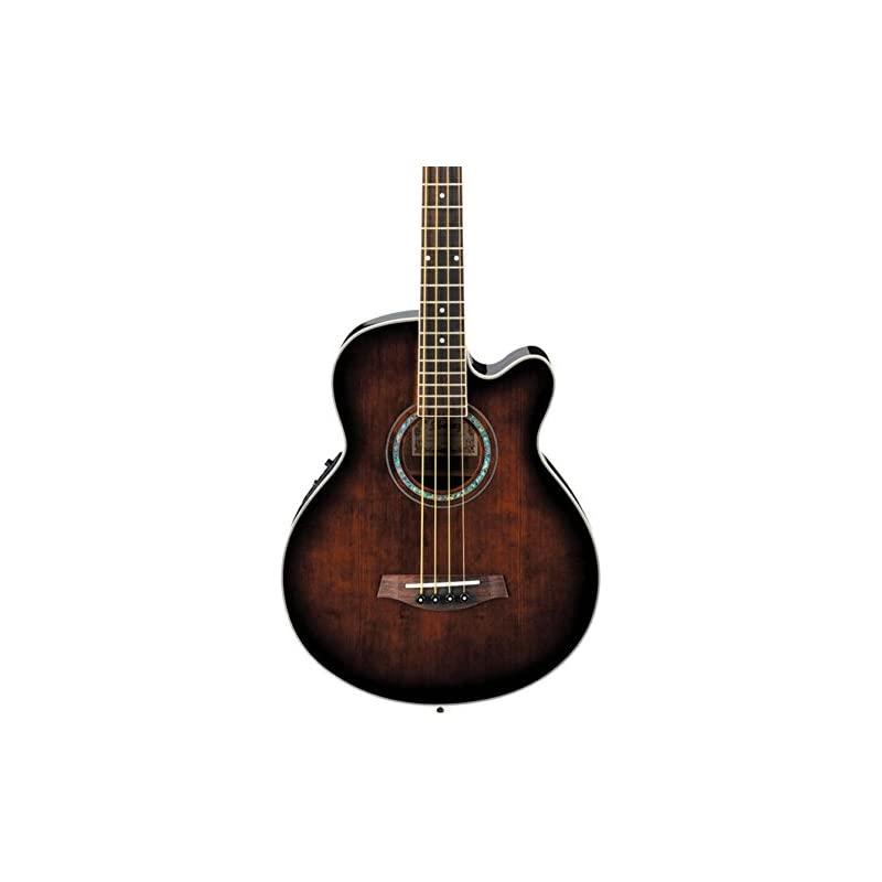 Ibanez Acoustic-Electric Bass Guitar Dar