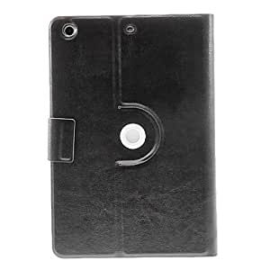 360 Degree Rotating Upscale Black PU Full Body Case with Stand for iPad mini