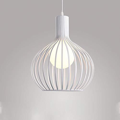 Blanc 2836cm Suspension luminaire, Moderne Chandelier, Lustre, Appareil d'éclairage, pour Restaurant café Salon pendentif Lampe (Couleur   Blanc, Taille   28  36cm)