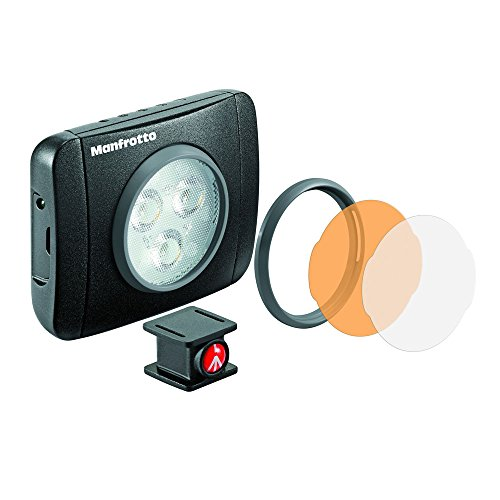 LUMIMUSE 3 LED Light and Accessories - Black by Manfrotto