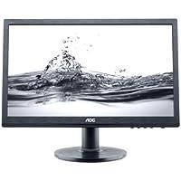 AOC E2060SWDA 19.5 LED-Backlit LCD Monitor, Black