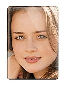 Excellent Ipad Air Case pc Cover Back Skin Protector Alexis Bledel