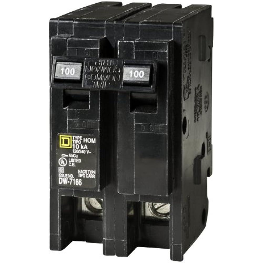 Square D Schneider Electric Hom2100cp Homeline 100