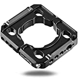 SMALLRIG Rod Clamp Ring Extension Mounting Ring Compatible with DJI Ronin S Gimbal Stabilizer for DSLR Camera w/NATO Rail, 1/4'' Threaded Holes and 3/8'' Locating Holes for ARRI Standard - 2221