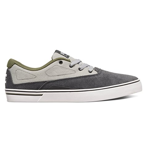 DC Herren-Sultan S Low Top Freizeitschuh, EUR: 44.5, Grey/Grey/Green