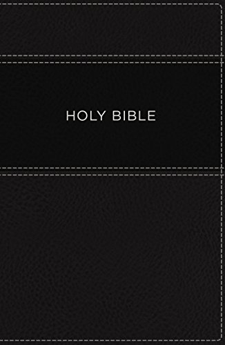 Price comparison product image KJV, Apply the Word Study Bible, Large Print, Imitation Leather, Black, Indexed, Red Letter Edition: Live in His Steps