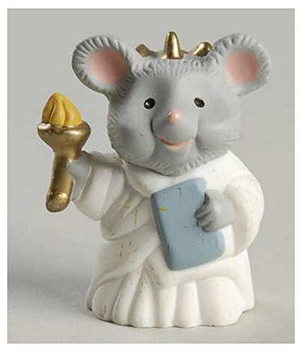 (Hallmark Merry Miniatures Mouse Statue of Liberty 1993 Patriotic)