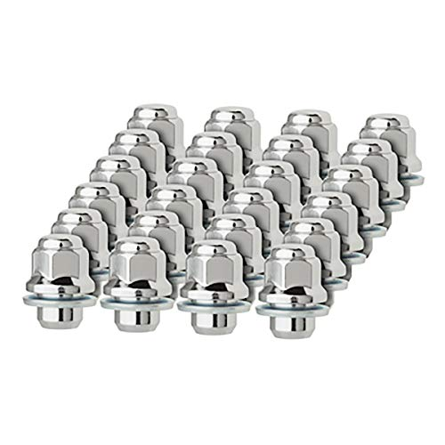 DPAccessories LCM3C6HCOCH04024 24 Chrome Lug Nuts for Toyota Lexus Scion Aluminum Wheels 90084-94001 99051.1 Wheel Lug Nut