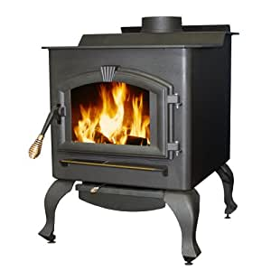 US Stove 2015 Plate Steel Magnolia Freestanding Heater with Blower