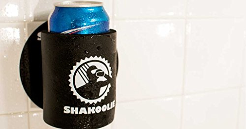 Shakoolie, Shower Beer Can Cooler (Black)
