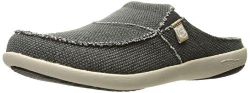 - Spenco Men's Siesta Canvas Slide Sandal, Charcoal, 8M Medium US