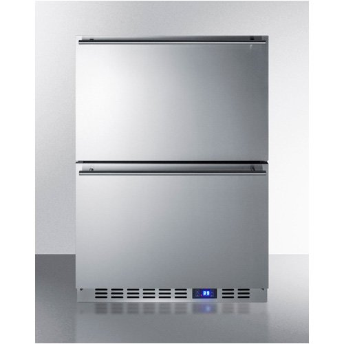 Summit FF642D Drawer Refrigerator, Stainless Steel by Summit (Image #1)'
