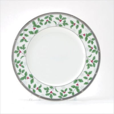 - Noritake Rochelle Platinum Holiday Accent Plates, Set of 4