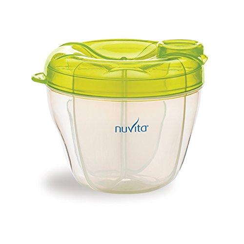 Nuvita 1461 Milk Powder Container and Dispenser (Green) NU-ALPL0003