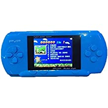Maikerry Handheld Consoles Frivolous Handheld Game Consoles Children Portable Game Console PVP270 NES FC PXP3 Consoles are Gifts for kids (blue1)