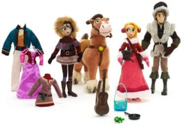 Tangled The Series Deluxe Doll Set Original Official Disney Amazon Co Uk Toys Games