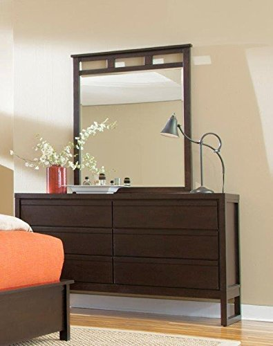 Progressive Furniture P109-23 Athena Drawer Dresser, 60x18x35