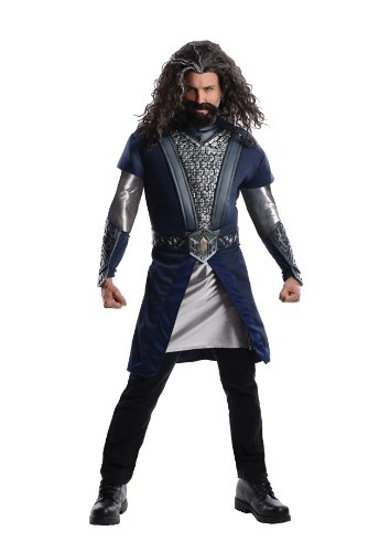 Rubie's Costume The Hobbit Deluxe Thorin, Multicolor, Adult One Size Costume (Adult Hobbit Costume)