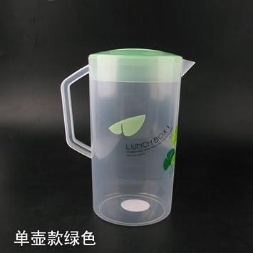 WEIAIXX Resistente A Las Altas Temperaturas 冷 Hervidor De Agua Fría Grande De Plástico Grueso Resistente