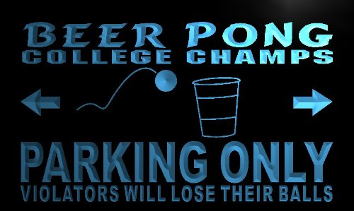 Pong Parking Only Neon Light Sign ()