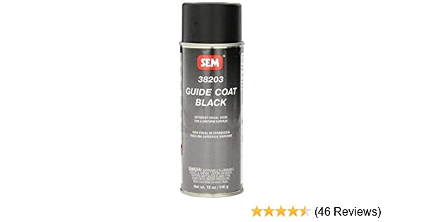 SEM 38203 Black Guide Coat - 12 oz
