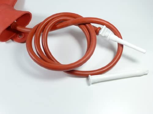 Wärmflaschen - Irrigator 3 Liter, Einlauf - Klistier, jetzt mit stabilem S-Haken