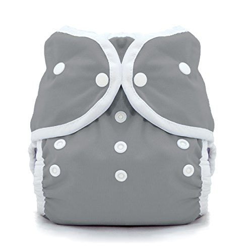 Thirsties Snap Duo Wrap, Fin, Size Two (18-40 Lbs)