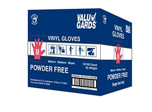 Handgards Eclipse Value Medium PVC Glove - 100 per pack - 10 packs per case.