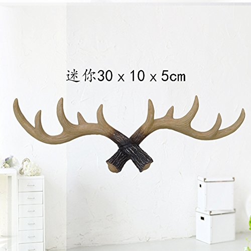 [Sino Banyan Antlers Hook,Mini,11.8 Inch,Primary Color] (Good White Trash Costume Ideas)
