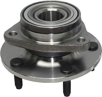 Detroit Axle - Front Wheel Hub and Bearing Assembly for 1994-1999 Dodge Ram 1500 4x4 5-Lug [NO ABS]