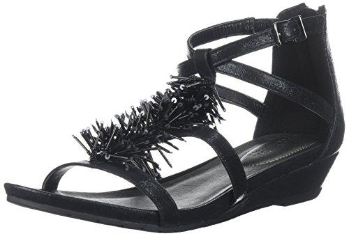 Femme pieds rl07707mtNu Grande À Kenneth Cole Reactionp Frange Noir tdhQsrCx