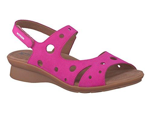 Mephisto Polly Ladies Sandal EU Size 40 Magenta Nubuck d7hLTY