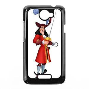 HTC One X Phone Case Black Peter Pan Captain Hook DYW5140504