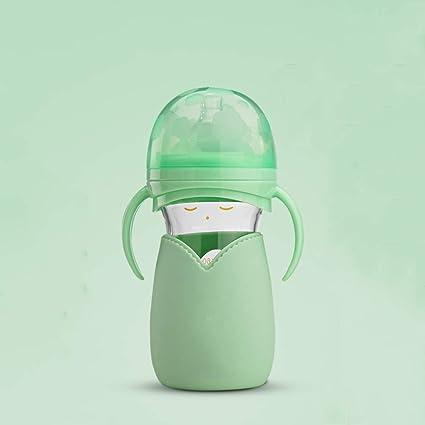 MC-BLL-Baby bottle Biberón recién Nacido con Mango Pajita bebé ...