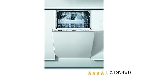 Whirlpool ADG 301 Totalmente integrado 6cubiertos A+ lavavajilla - Lavavajillas (Totalmente integrado, Acero inoxidable, Botones, 1,3 m, 6 cubiertos, 49 dB): 347.33: Amazon.es: Grandes electrodomésticos