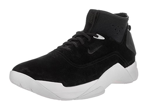 Nike Men's Hyperdunk Low Lux Black/Black/White Basketball Shoe 9.5 Men US