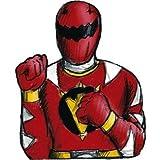 : Power Rangers 'Red Ranger' Thumb Wrestlers / Favors (4ct)