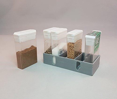 Mini Spice Rack for Motorhome, Caravan, Boat or Camping : Lightweight