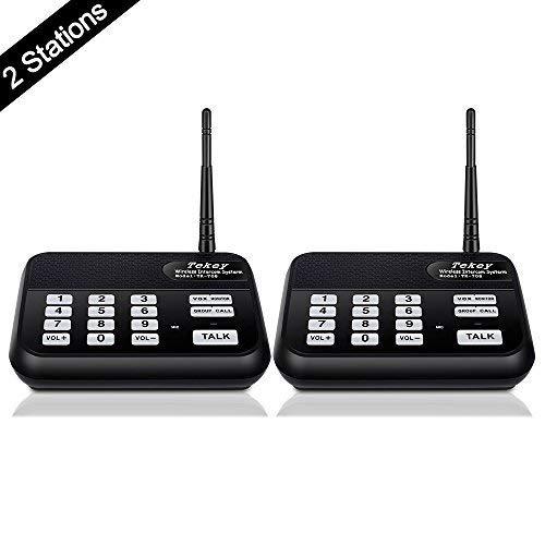TekeyTBox Long Range Digital FM Wireless Intercom System
