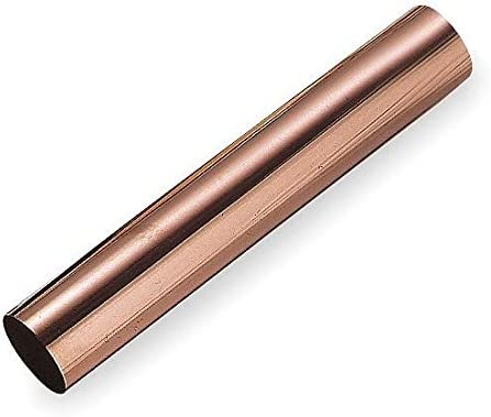 Mueller Industries 10 ft Hard Straight Copper Tubing 1-5//8 Outside Dia 1.527 Inside Dia - 1 Each